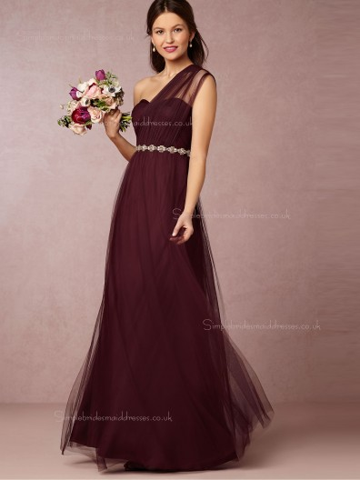 Comely Hot Selling A-line Sweetheart Black Floor-length Bridesmaid Dresses
