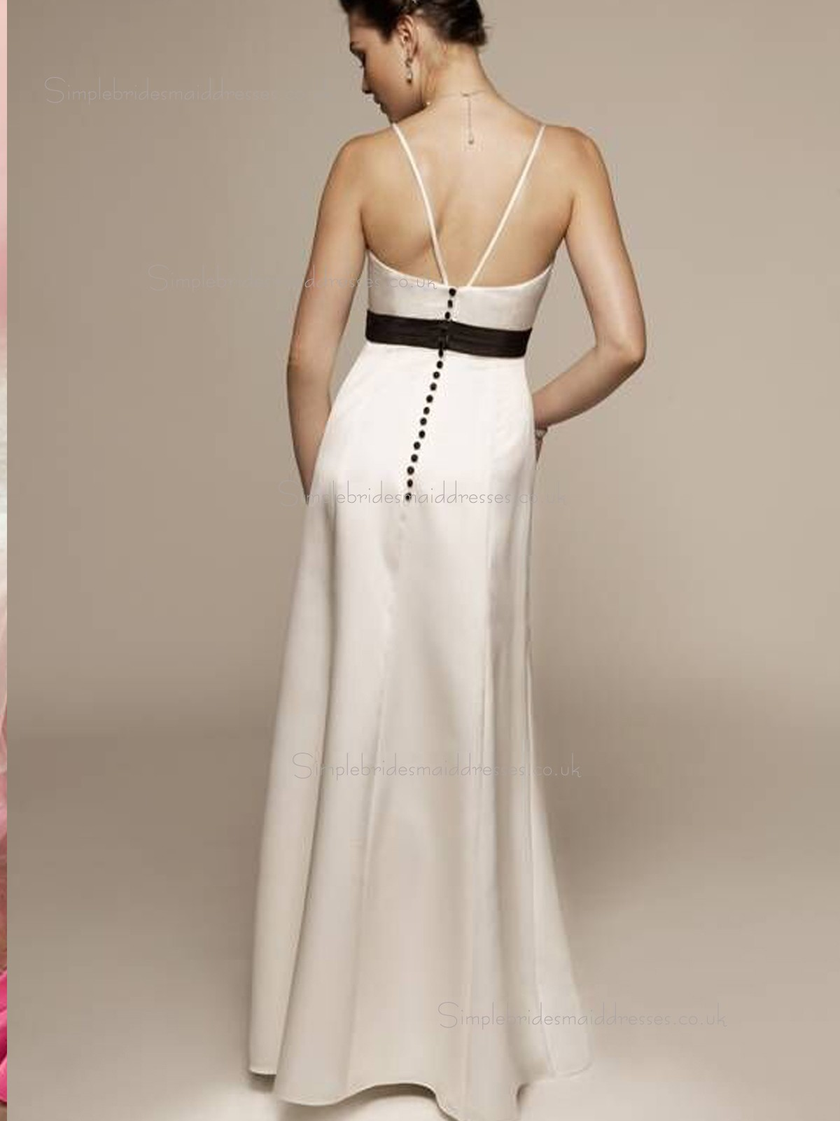 Buy Uk Champagne Sweetheart A Line Empire Floor Length