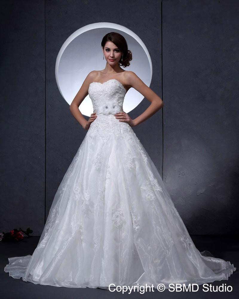 Taffeta applique beading empire sleeveless a line ball for Empire wedding dresses uk