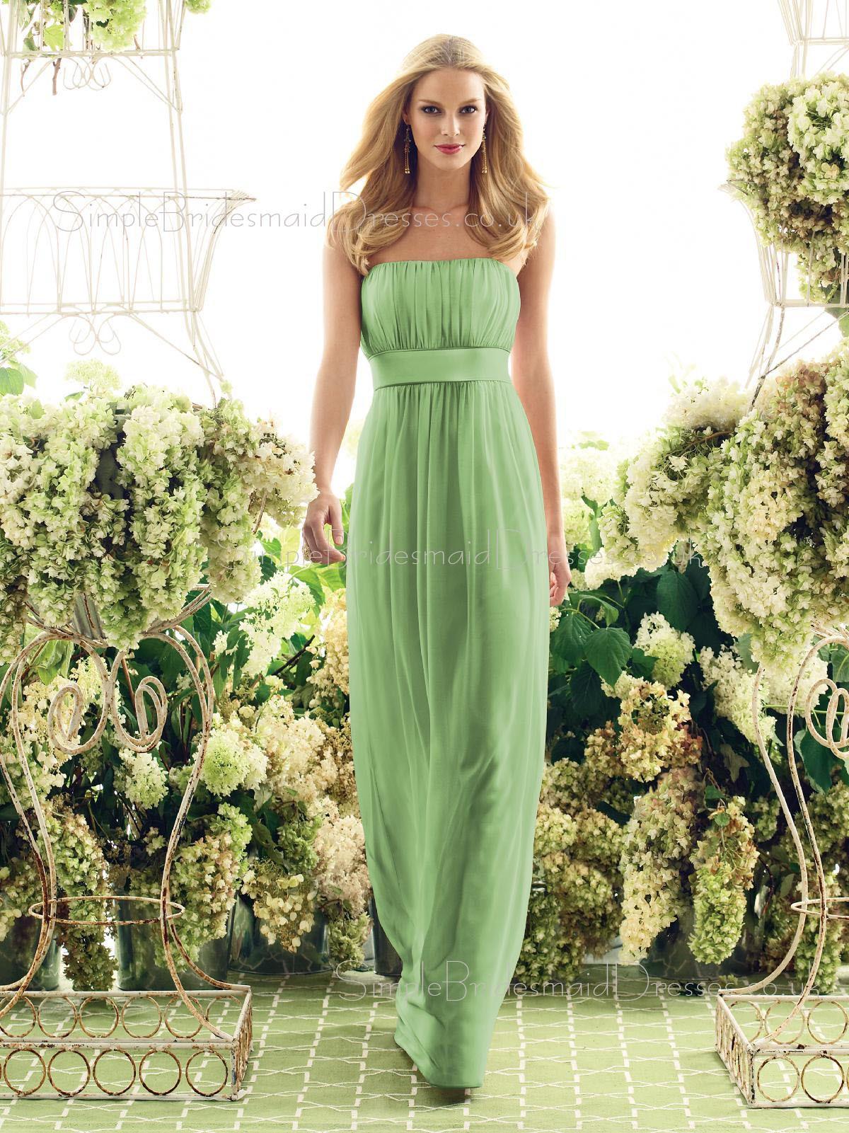 Wedding Sage Bridesmaid Dresses green bridesmaid dresses uk sage floor length empire drapedrufflessash sleeveless dress