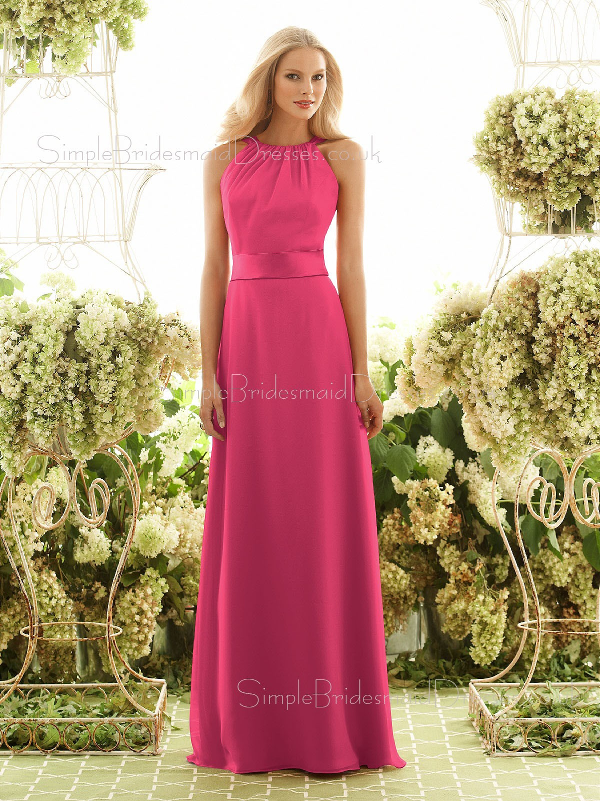 Unique Fuchsia Bridesmaid Dresses