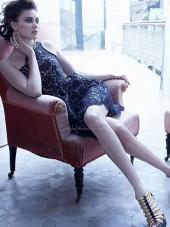 Shoulder Sleeveless A-line Short-length One Shoulder Applique Black Natural Backless Lace Bridesmaid Dress