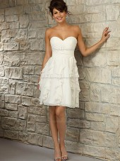 Stunning Chiffon Sweetheart A-line Bridesmaid Dress