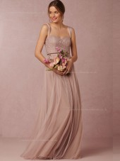 Elegant Hand Made Flower Sweetheart Sleeveless Bridesmaid Dresses