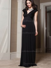 Cheap Sweep Black Bridesmaid Dresses