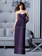 Floor-length Empire Sleeveless Sweetheart Chiffon Bridesmaid Dress