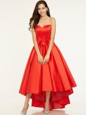 Vintage Discount A-Line Sweetheart Pleats Asymmetry Bridesmaid Dress