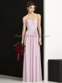 Zipper Pink Natural Strapless/Sweetheart A-line suede-rose Chiffon Floor-length Sleeveless Draped/Sash Bridesmaid Dress