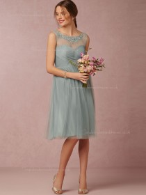 Radiant and Amazing Sweetheart Applique Knee-length Bridesmaid Dresses