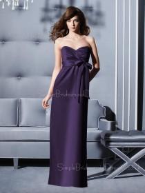 Floor-length Empire Sleeveless Sweetheart Chiffon Bridesmaid Dress