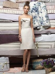 Zipper Natural A-line Knee-length Sleeveless Bridesmaid Dress