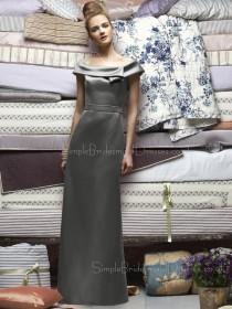 Satin Silver Sleeveless Zipper Natural Bridesmaid Dress