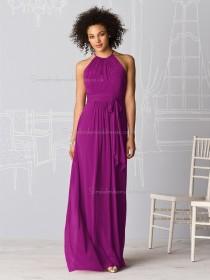 Luxury Stylish Persian Plum Floor Length Bridesmaid dresses