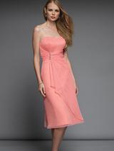 Tea-length Bridesmaid Dresses